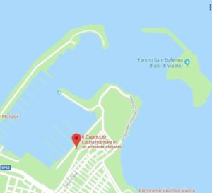 IlCapriccioVieste_mappa